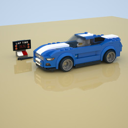 Lego set 75871 - Ford Mustang GT