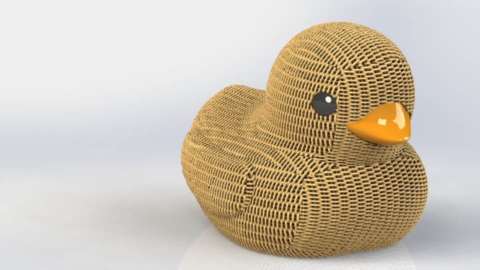 Rubber Duck | 3D CAD Model Library | GrabCAD