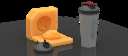 Mold for Shaker-Bottle Cap | TRINOTA
