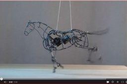 Kinetic horse