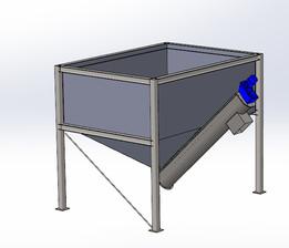 Bin with Conveyor feeder