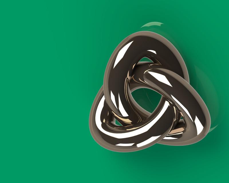 Infinity Symbol 3d Cad Model Library Grabcad