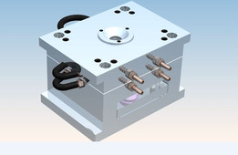 SIMPLE INJECTION MOLD