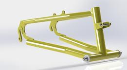Trike rear swing arm