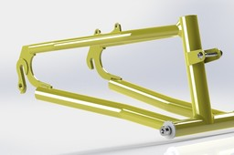 Trike rear swing arm