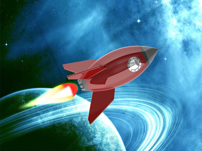 Cartoon Rocket Ship  3D CAD model  GrabCAD