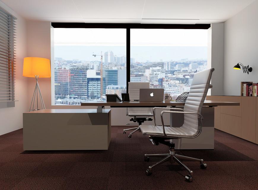 Modern office   3D CAD Model Library   GrabCAD