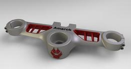 Amarok triple clamp version 2
