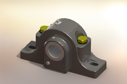 Rexnord-Spherical Roller Bearing Pillow Block P-LB6800R, P-LB6800FR, P-LB6600FR-P-LB6823