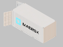 Maersk 20ft ISO Container