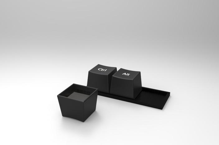 Ctrl Alt Del Cofee Mug Other Step Iges 3d Cad Model