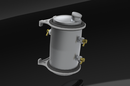 Moon Oil Tank Vertical Assembly