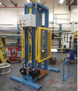 Hydraulic compression test Rig