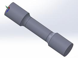 tensile test rod sample