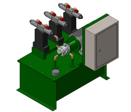 HYDRAULIC VALVE - Recent models | 3D CAD Model Collection