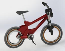 3D printable Mini Mountain bike