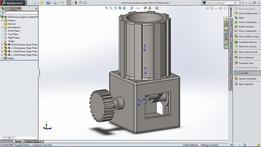 Simple Single Cylinder Engine