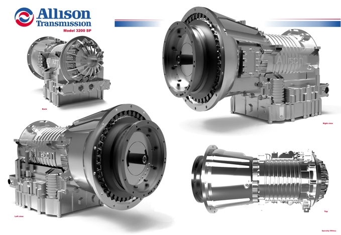 Allison 3200 SP Transmission