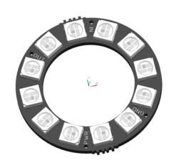 Adafruit Neopixel Ring 12x (WS2812 RGB LEDs)