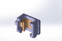 Hand rail clamp