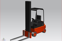 Forklift truck simply