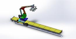 ABB Robot on Track