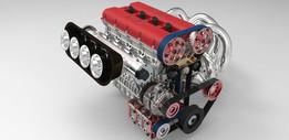 ENGINE 2.0 LITER 4 CYLINDER  (88MM BORE x 80MM STROKE)