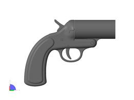 FLARE GUN second model