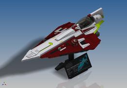 LEGO Star Wars - UCS Obi-Wan's Jedi Starfighter (10215)