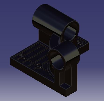 Lead Screw Bracket V1 | 3D CAD Model Library | GrabCAD
