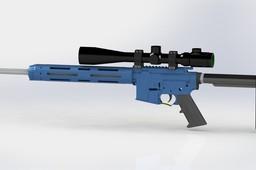 AR - 15 Tube Gun