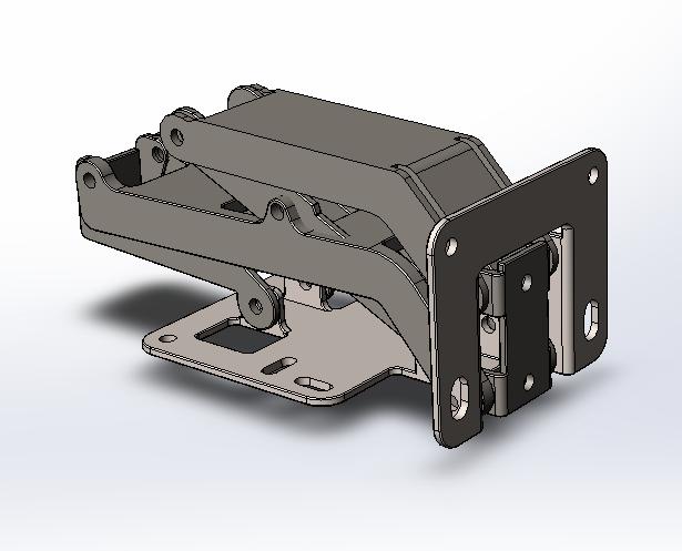 Rockler Hinge 175 Degree (SW17) | 3D CAD Model Library | GrabCAD