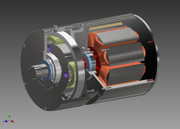 Generator and planetary gearbox