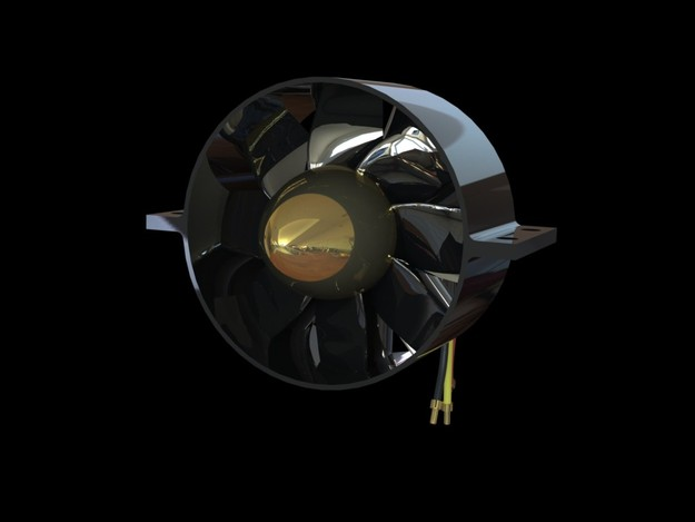 90mm electric ducted fan. Black Bedroom Furniture Sets. Home Design Ideas