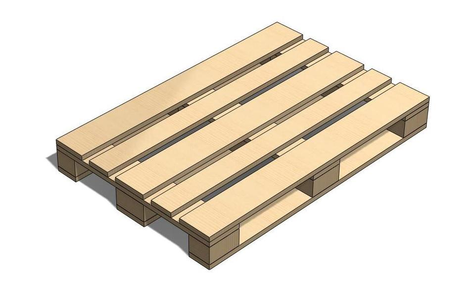 euro pallet 3d cad model library grabcad. Black Bedroom Furniture Sets. Home Design Ideas