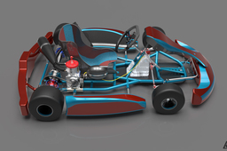 Go-Kart 3d Fully complete