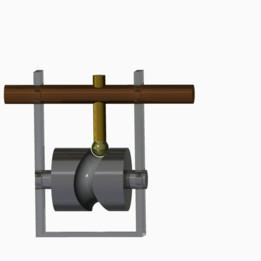 Barrel Cam Follower Mechanism