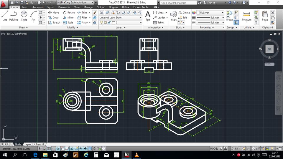 AutoCAD isometric tutorials | 3D CAD Model Library | GrabCAD