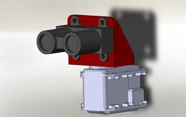 Lidar Lite mount for Dynamixel