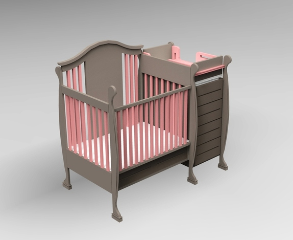 Krevetac(Child craft crib)