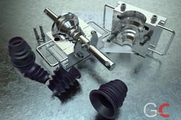 Compression mold tool NBR02