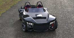 Barchetta sport car