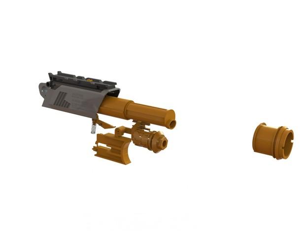Nerf Blaster Inner Mechanism