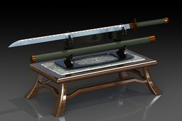 Sword on Display table