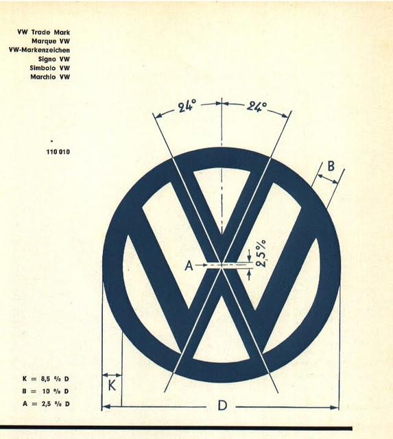 Volkswagen Logo 3d Cad Model Library Grabcad