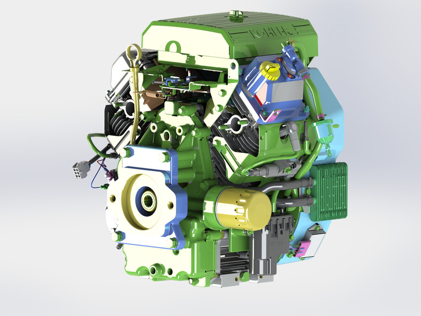 Kohler Engine | 3D CAD Model Library | GrabCAD