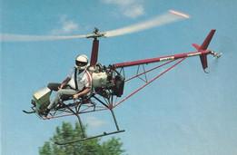 """""""Colibri"""" Helicóptero ULTRALIVIANO, construcción casera"""