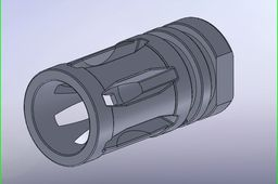 AR-15 A-2 flash hider
