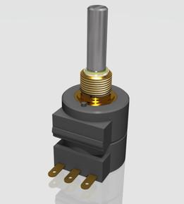 Spring Reset Precision Wirewound Potentiometer DP18 St Ff