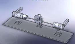 Double Air Compressor Using Scotch Yoke Model